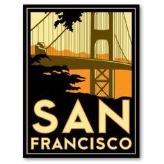 Vintage poster San Francisco