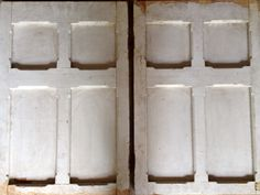 """Antique pair of salvaged raised panels. 20""""w x 30""""h each"""