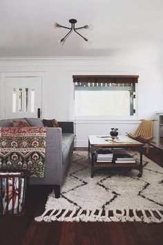 living room. #midcentury #moroccan