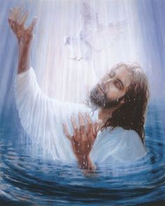 The hands of Jesus are releasing Holy Spirit into the world to bring the creative ideas of God into the earth realm. Jesus Our Savior, Jesus Lives, Jesus Is Lord, Pictures Of Jesus Christ, Jesus Christ Images, Our Father In Heaven, Jesus Face, Prophetic Art, Biblical Art