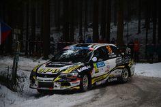 Mitsubishi Evo rally car - FIA ERC