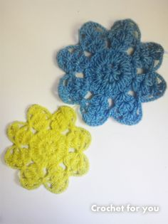 8 petals flower motif freebie tutorial, thanks so as tons of uses xox