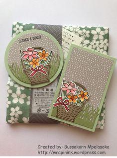 Basket Bunch notepad & card