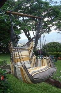Hangmat stoel voor binnen en buiten