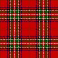 Bruce tartan; descendant of Robert the Bruce, as well as other Bruces, Scotland