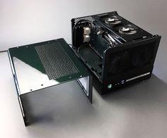 Caselabs bullet bh4 matx case for mnpctech custom case mod for Raumgestaltung mcqueen