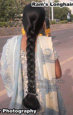 Indian Long Hair Braid, Long Hair Ponytail, Braids For Long Hair, Plaits Hairstyles, Bun Hairstyles For Long Hair, Indian Hairstyles, Beautiful Braids, Beautiful Long Hair, Beautiful Women