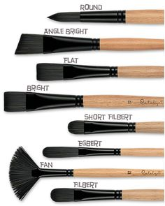 Princeton Catalyst Bristle Brushes -for oils