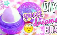 Best DIY EOS Projects - DIY Natural Oils Sleep Balm - Turn Old EOS Containers Into Cool Crafts Ideas Like Lip Balm, Galaxy, Gumball Machine, and Watermelon - Fun, Cheap and Easy DIY Projects Tutorials and Videos for Teens, Tweens, Kids and Adults http://diyprojectsforteens.com/diy-eos-projects