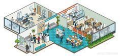 Rod Hunt Illustration Studio - Illustration and Map Portfolios for Advertising…