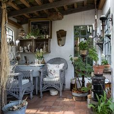 Hus i havens tegn Dream Home Design, House Design, Detox Your Home, Outdoor Rooms, Outdoor Decor, Cabin Interiors, Shed Homes, Backyard Retreat, Patio Design