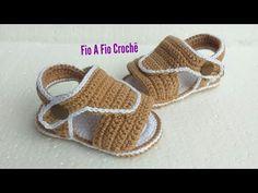 Crochet Baby Sandals, Booties Crochet, Crochet Baby Clothes, Crochet Shoes, Baby Shoes Pattern, Baby Patterns, Newborn Hats, Felt Shoes, Baby Boots