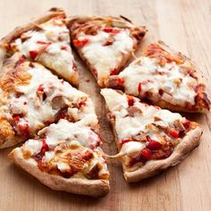 Frozen pizzas have their time and place, such as back-up meals when we don't have time to shop, and as easy heat-and-serve dinners for babysitters. Nothing wrong with a good store-bought frozen pizza in these situations, but making your own homemade frozen pizzas from scratch will probably save you some pennies — plus you get exactly the toppings you want! It's easy to do: just two little tricks and you can fill your freezer with all the made-ahead frozen pizzas you could ever want.