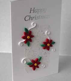 Quilled christmas card made by quilled creations by me quilled quilled christmas card handmade paper quilling by paperdaisycards m4hsunfo