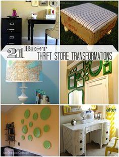 21 Inspiring Thrift Store Transformations – An Oregon Cottage