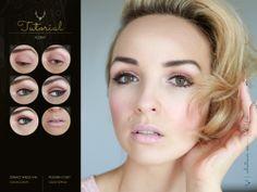 Powder Pink #tutorial #makeup #blogicony