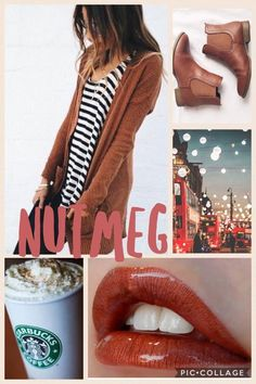 Nutmeg smudge proof ,kiss proof, water proof To order visit  FB oohlalipsbylinda