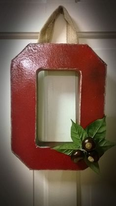 Hey, I found this really awesome Etsy listing at https://www.etsy.com/listing/166355321/ohio-state-block-o-door-hanger