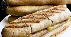 pan, panini, sanduche, sandwich, panini integral, cocina de película, panes, panes artesanales, bread, pan italiano, panes integrales, queso, queso gorgonzola, jamón de pavo, rúcula, pimentones, queso mozzarella, Hot Dog Buns, Hot Dogs, Sandwiches, Queso Mozzarella, Pan Integral, Bread, Food, Bread Recipes, Deserts
