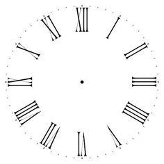 clock face with roman numerals decor ideas pinterest clock