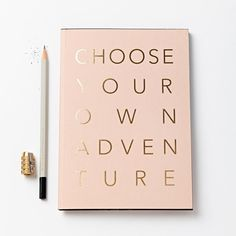 Kin Adventure Notebook ($12) ❤ liked on Polyvore featuring home, home decor and stationery