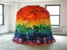 second hand kleider regenbogenfarbe