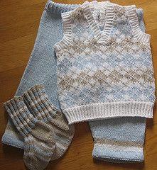 Ravelry: 0205-5 Baby Boy Set pattern by Birte Aartun