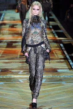 Complete Collection - roberto cavalli milan fashion week fall 2011 collection 6,