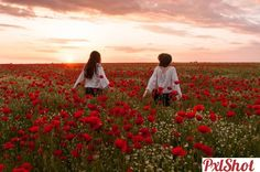 Red flowers in Dobrogea Beautiful Sunset, Red Flowers, Romania, Maci, Deviantart, Couple Photos, Couples, Couple Pics, Couple