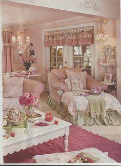 Sweet decor. Lovely #shabby