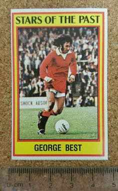 panini 85 (1985) #Football sticker past stars manchester united george best from $2.48