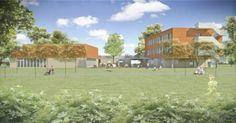 Architectura - Passieve school De Zeppelin voor bijzonder lager onderwijs in Assenede