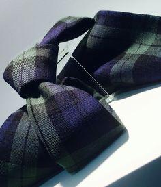 Corbata y pañuelo tartan
