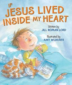 A new size for this sweet and brightly colored board book that explores the presence of Jesus in our lives. If Jesus lived inside our hearts, would it show in our daily actions? This delightful little story explores just that as the toddlers in the story learn to be kind and generous in a variety of situations. The book may be used by parents as an introduction to Jesus and a way to discuss the many ways He lives within us. Bright and engaging illustrations from Amy Wummer enhance the appeal… Bible Lessons, Lessons For Kids, Kind And Generous, Kindergarten Books, John Kerry, Religious Books, Christian Kids, Free Pdf Books, Bible Stories