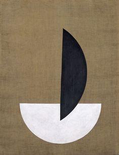 László Moholy-Nagy, Segments of a Circle, 1921