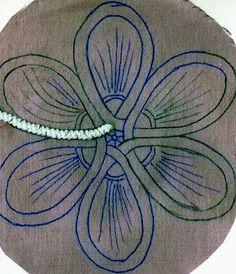 Блоги@Mail.Ru: Румынское кружево (первая проба) Bobbin Lace Patterns, Bead Embroidery Patterns, Crochet Stitches Patterns, Crochet Motif, Irish Crochet, Beaded Embroidery, Crochet Lace, Hand Embroidery, Patron Crochet