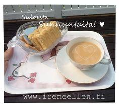 Suloista sunnuntaita! http://www.ireneellen.fi #ireneellen