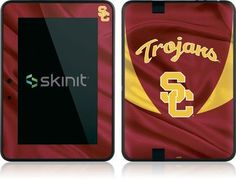 Skinit University of Southern California USC Jersey Vinyl Skin for Amazon Kindle Fire HD 7 by Skinit. $19.99. IMPORTANT: Skinit skins, stickers, decals are NOT A CASE. Our skins are VINYL SKINS that allow you to personalize and protect your device with form-fitting skins. Our adhesive backing can be applied and removed with no residue, no mess and no fuss. Skinit skins are engineered specific to each device to take into account buttons, indicator lights, speaker...