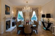 A view of this elegant dining room by Matt, interior #design on Design for Me. Get matched with the right design professional for your home project on www.designforme.com