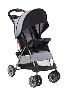 All mom's favorite full-size stroller features in a compact, travel-friendly lightweight stroller. Cozy seat, ample storage, large canopy. Perfect for traveling and day trips with a compact fold and lightweight design (only 11.8lbs). Convenient one-hand and self-standing fold. Large,...
