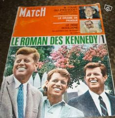 Paris Match 1003 Roman, Paris Match, Magazine, Magazines, Warehouse, Newspaper
