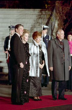 Nancy and Ronald Reagan with Mikhail and Raisa Gorbachev before the White House state dinner, 1987 Courtesy of Ronald Reagan Library    Serving as a Diplomat    Visits by foreign heads of state can give the first lady a chance to shine as a diplomat as well as a hostess. Nancy Reagan entertained foreign leaders at fifty-five state dinners. The elegant state dinner she planned for Soviet general secretary Mikhail Gorbachev provided a celebratory end to a Washington summit and the signing of…