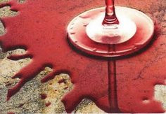 How to get rid of stains on your countertops.