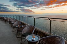 Gloria Palace Amadores #colores #seaview #sun #nightfall #GranCanaria #bar