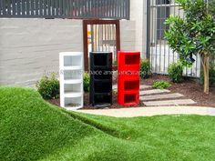 Posting Boxes - Tessa Rose Natural Playspaces Blogspot: Newest completed project, SDN Paddington, 0-2 YOA Playspace
