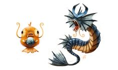 The first Pokemon game I played was Colosseum for the Gamecube, and I fell in love with the 3D Gyarados and its humorous attack animations. The fact that a meek Magikarp can turn into that beast is awesome. Drawn by the talented Piper Thibodeau. -DC2