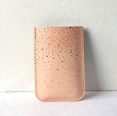 Constellation iPhone leather sleeve by RARAMODO on Etsy, $25.00