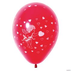 8 Globos rojos San Valentín