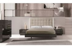 Bedroom Sets: Modern & Contemporary Bedroom Furniture Sets Black Bedroom Sets, Luxury Bedroom Sets, Luxurious Bedrooms, Platform Bedroom, Modern Platform Bed, Black Platform, Contemporary Bedroom Furniture Sets, European Bedroom, Design