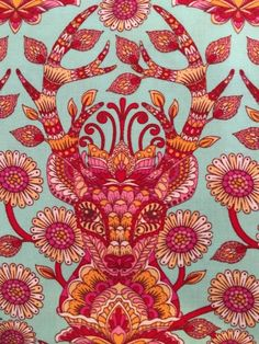Deer Me from Moonshine line by Tula Pink for by BungalowQuilting